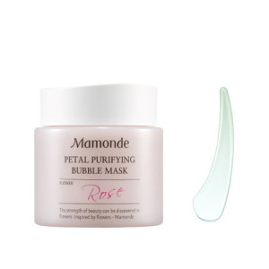 Очищающая маска Mamonde Petal pruifying bubble mask 100ml