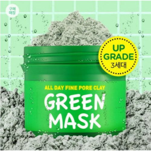 SCINIC All Day Fine Pore Clay Green mask 100g