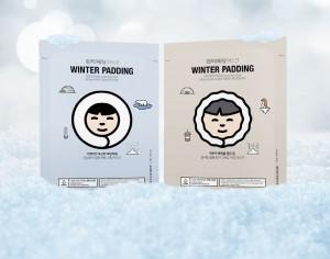 THE FACE SHOP Winter Padding Moisturizing & Deep Moisturizing Cream Mask