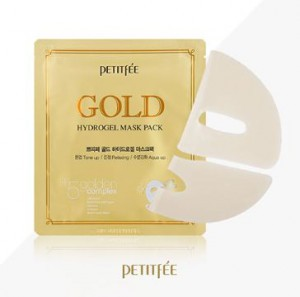 PETITFEE Gold Hydrogel mask pack 5sheet(1box)