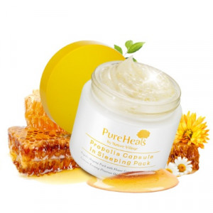 Pureheals Propolis Capsule in Sleeping Pack 80ml