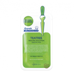 MEDIHEAL Tea Tree Healing Solution (care solution) Essential Mask 25ml (10pcs/box)