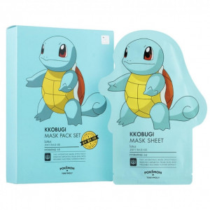Tony Moly Pokemon Mask Sheet 10ea #Kkobugi (Pokemon Edition)