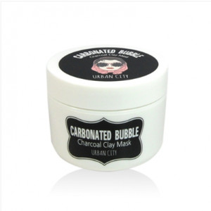 URBAN CITY Carbonated Bubble Charcoal Clay Mask 100ml