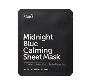 KLAIRS Midnight Blue Calming sheet Mask [1 sheet]