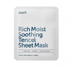KLAIRS Rich Moist Soothing Tencel sheet Mask [1 sheet]