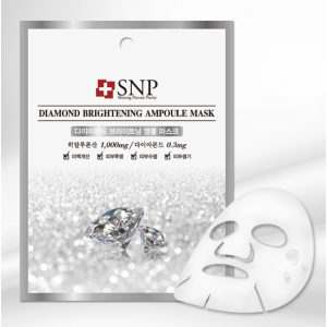 SNP Diamond Brightening Ampoule Mask 25ml*10ea