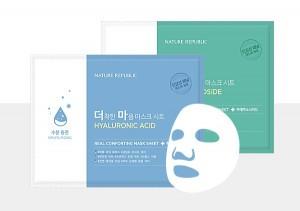 NATURE REPUBLIC Real Comforting Mask Sheet 1+1 24g*2ea