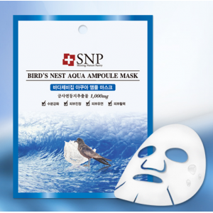 SNP Bird's Nest Aqua Ampoule Mask 25ml*10ea