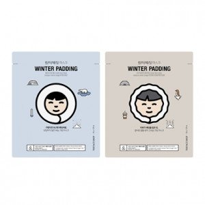 THE FACE SHOP Winter Padding Moisturizing&Deep Moisturizing Cream Mask 20g