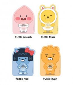 THE FACE SHOP Little Friends Mask Sheet 22g (Kakao Friends)