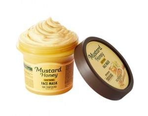 SKINFOOD mustard honey soothing Face Mask 100ml