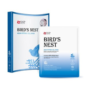 SNP Bird's Nest Aqua Fitting Cell Mask 25ml*10ea