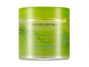 NATURE REPUBLIC Jeju Sparkling All In One Cleansing Pads 130g