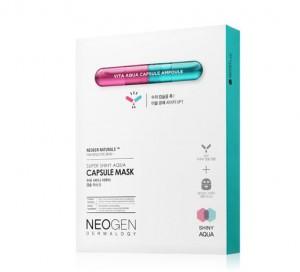 NEOGEN DERMALOGY Super Shiny Aqua Capsule Mask_ 5ea