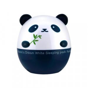 Маска с осветляющим эффектом для лица и кожи вокруг глаз Tony Moly Panda's Dream White Sleeping Pack 50g