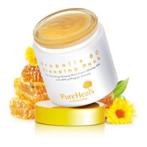 Ночная маска PUREHEALS Propolis 80 Sleeping Pack 100ml