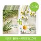 NATURE REPUBLIC Real Nature Mask Sheet (Tea tree 10+Chamomile 10) 20sheets