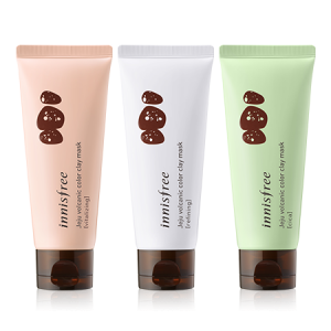 Маска с глиной Чеджу Innisfree Jeju volcanic color clay mask 70ml