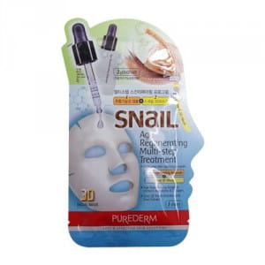 Косметическое средство  с фильтратом слизи улитки  Purederm Snail Age Regenerating Multi-Step Treatment 23g