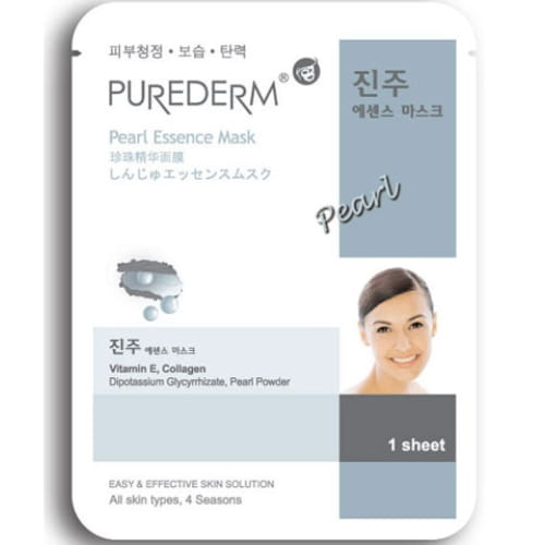 Маска для лица Purederm Essence Mask – Pearl