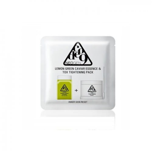 Питательная эссенция Neogen Code9 Lemon Green Caviar Essence & Tox Tightening Pack 1p