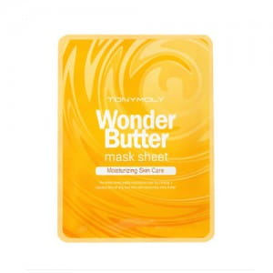 Листовая маска для лица с маслом ши Tony Moly Wonder Butter Mask Sheet