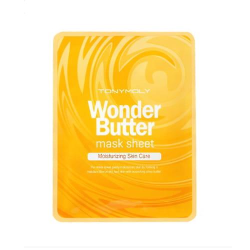 Листовая маска для лица с маслом ши Tony Moly Wonder Butter Mask Sheet