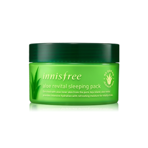 Ночная маска для лица с алоэ Innisfree Aloe revital sleeping pack