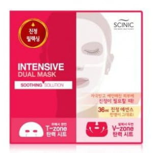 SCINIC Intensive Dual mask [Soothing solution] 18ml+18ml