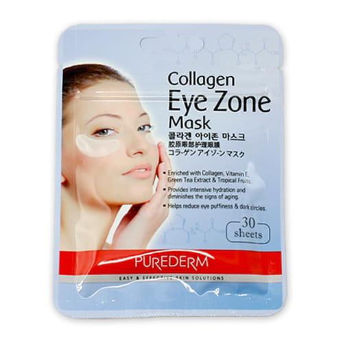 Специальная маска для кожи вокруг глаз Purederm Collagen Eye Zone Mask