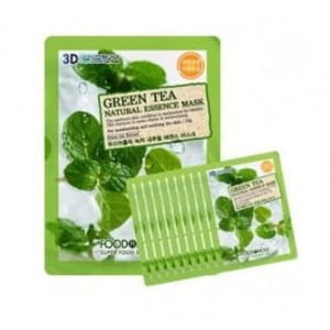 FOOD A HOLIC 3D Natural Essence Mask [Green Tea] x10EA