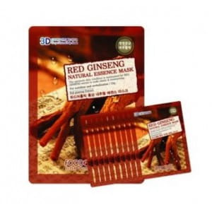 FOOD A HOLIC 3D Natural Essence Mask [Red Ginseng] x10EA