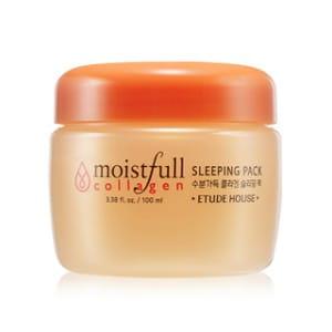 Ночная увлажняющая коллагеновая маска для лица Etude House Moistfull Collagen Sleeping Pack 100ml
