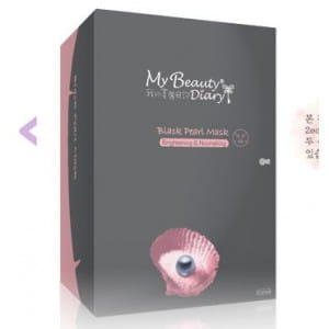 My beauty Diary Black Pearl mask /2sheet