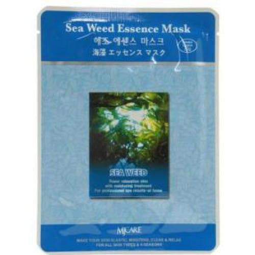 Листовая маска с морскими водорослями MJ CARE Essence Mask [Sea weed]