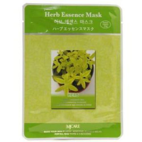 Листовая одноразовая маска  MJ CARE Essence Mask [Herb]