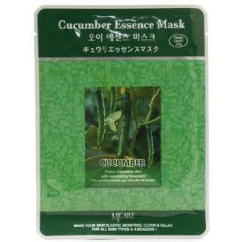 Листовая маска с огурцом MJ CARE Essence Mask [Cucumber]