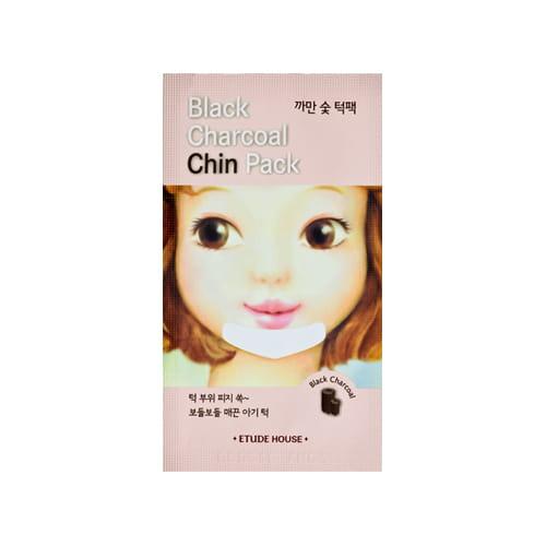 Локальная маска от Etude House Black Charcoal Chin Pack