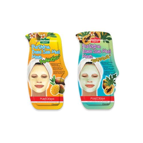 Маска для глубокой очистки кожи Purederm Purifying Dead Sea Mud Mask