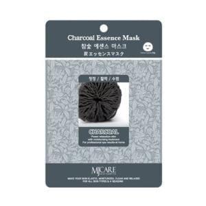 Маска с древесным углем MJ CARE Essence Mask [Charcoal]