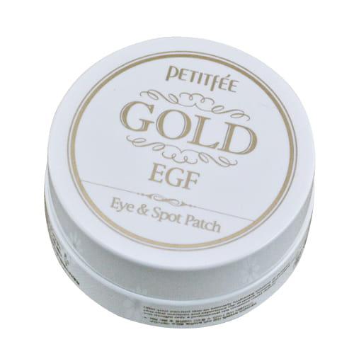 Локальная маска для кожи вокруг глаз Petitfee Gold & EGF eye & spot Patch Eye patch 60pcs + Spot patch 30pcs