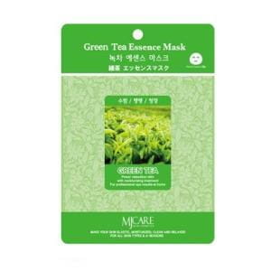 Листовая маска MJ CARE Essence Mask [Green tea]