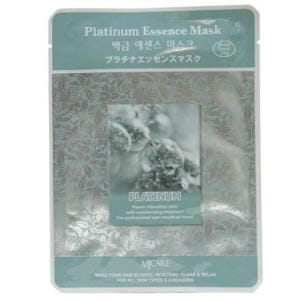 Листовая маска для лица с платиной MJ CARE Essence Mask [Platinum]