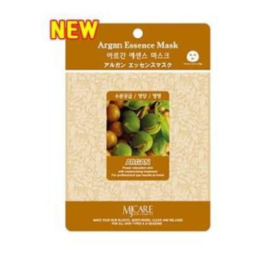 Восстанавливающая листовая маска с аргановым маслом MJ CARE Essence Mask [Argan]