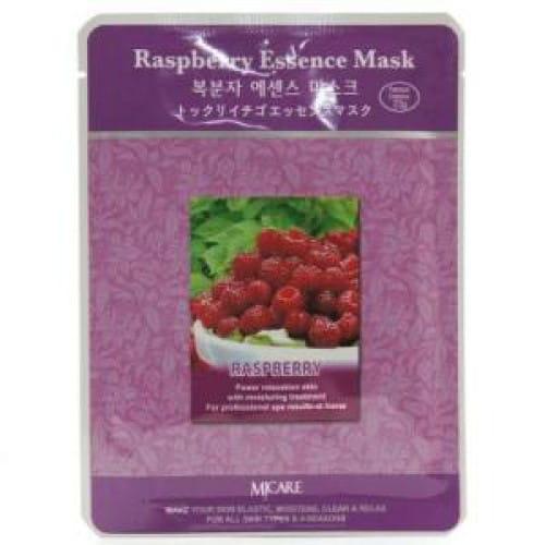 Листовая маска для лица MJ CARE Essence Mask [Raspberry]