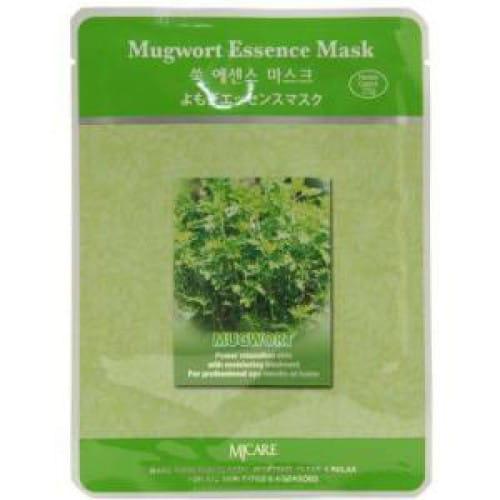 Маска с полынью MJ CARE Essence Mask [Mugwort]
