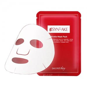 Омолаживающая маска Secret Key Syn-ake Wrinkle Mask Pack 20g