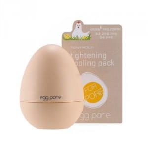 Яичная охлаждающая маска для сужения пор  Tony Moly Egg Pore Tightening Cooling Pack  30g