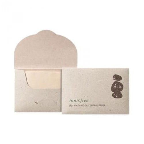 Матирующие салфетки Innisfree Beauty tool jeju volcanic oil control paper 50pcs